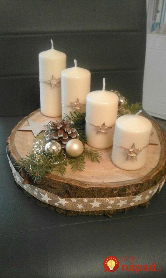 Namiesto klasických vencov z čečiny skúste tento rok vyskúšať niečo nové. Napríklad tento perfektný nápad, na ktorý potrebujete len plát dreva, 4 klince, 4 sviečky a dekorácie, ktoré chcete použiť. Prinášame vám pár inšpirácií, ktoré táto šikovná žena zo susedného Poľska vyrába pre všetkých svojich známych a dokonca ich aj predáva na vianočných trhoch. A...