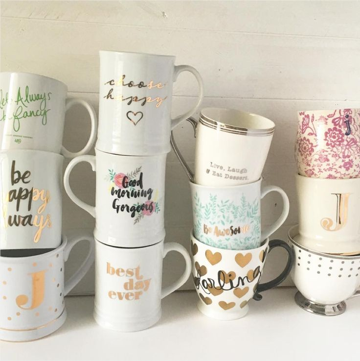 Gimme all the cute coffee mugs!