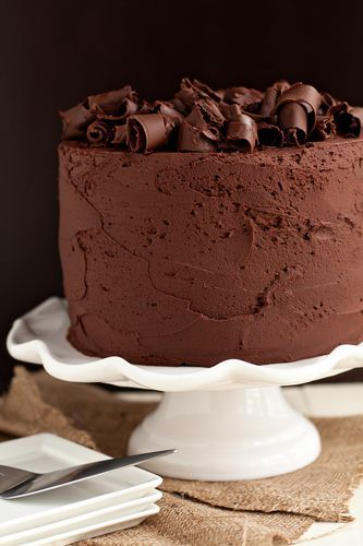 Chocolate stout baked into decadently rich and delicious chocolate cake.