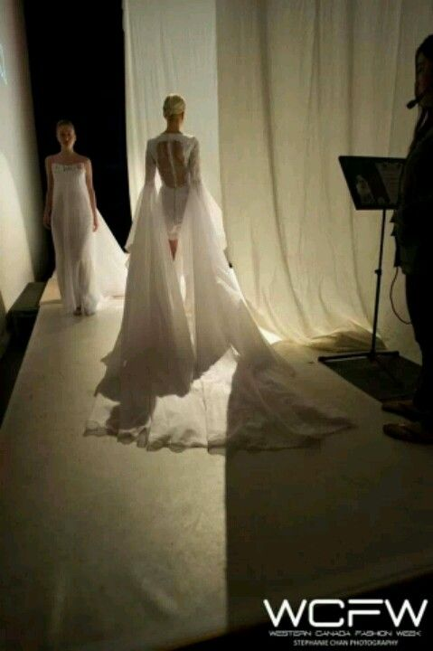 my view of my runway shows