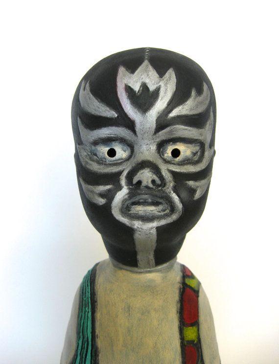 El Tulipan Negro Lucha Libre Ghost Baby