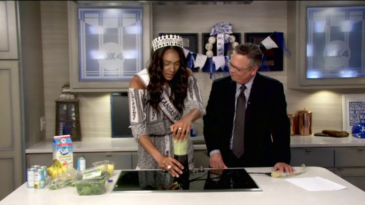 KANSAS CITY, Mo. -- If you're always on the go, it's important to fuel your body with healthy meals and snacks, like Miss. Kansas USA, Catherine Carmichael.  The current Lawrence resident visited the FOX 4 studio Tuesday to share how she has been preparing for the Miss. USA competition and what she eats to get her day started.