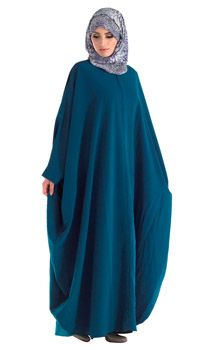 Kimono Irani Kaftan Abaya with Zipper Front