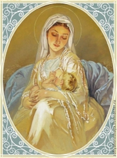 .Madonna with the child