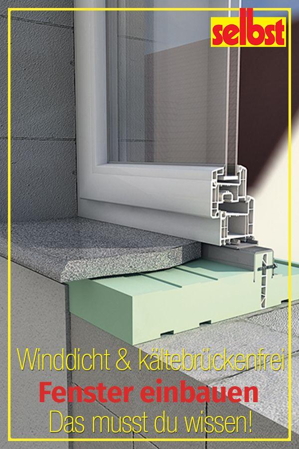Fenster Einbauen Selbst De Fenster Einbauen Hausrenovierung Haus Renovieren