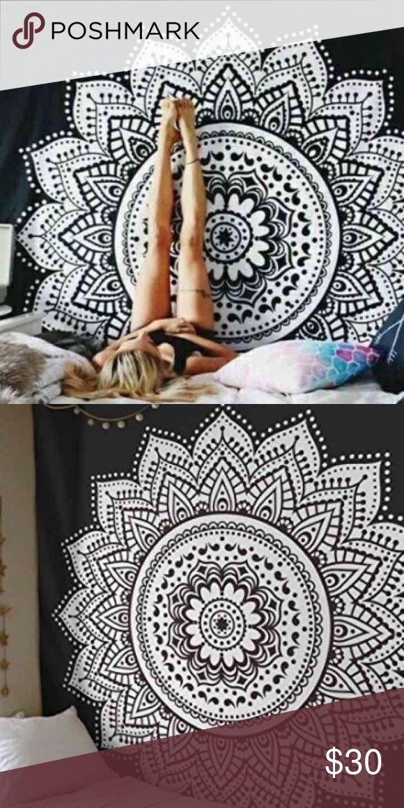 Wall hanging boho gypsy festival bed spread gift Make an offer to get good deals! 😃🎊🎁🎉🎄💰  😎Brand new.Handmade with natural dyes.   🤔Uses: bed spread, couch spread, curtains, wallhangings, Celling decor, beach mat, picnic mat, table cloth, 🕉 yoga & 🙏🏻meditation.  📐Size: twin bed)   🎀Material;💯% Cotton  🚿Wash: cold wash  💌➡️Website: http://www.rhyayfashion.com Other