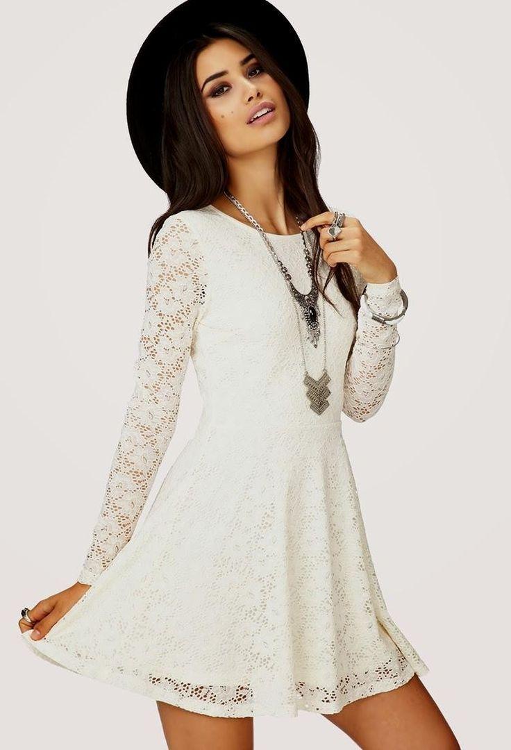 vestidos de moda 2014 cortos casuales