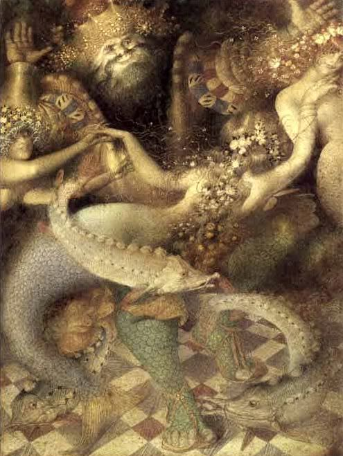 The Little Mermaid illustrated by Gennady Spirin