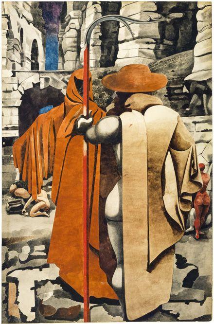 'The Watcher' (ca.1937) by Edward Burra