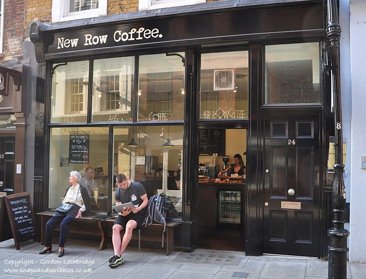 New Row Coffee, Covent Garden, serves kick ass coffee in London