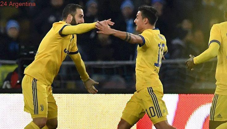 Higuaín, del odio del Napoli al festejo de Juventus