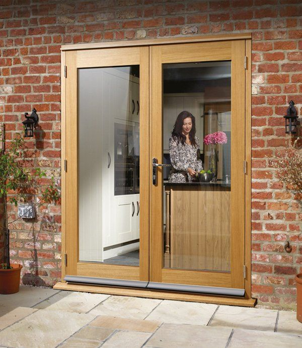 External French doors are a great way to bring natural light into your home.