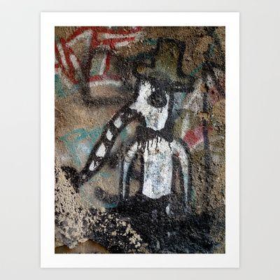 Mr. Elephas Art Print by Plasmodi - $16.00