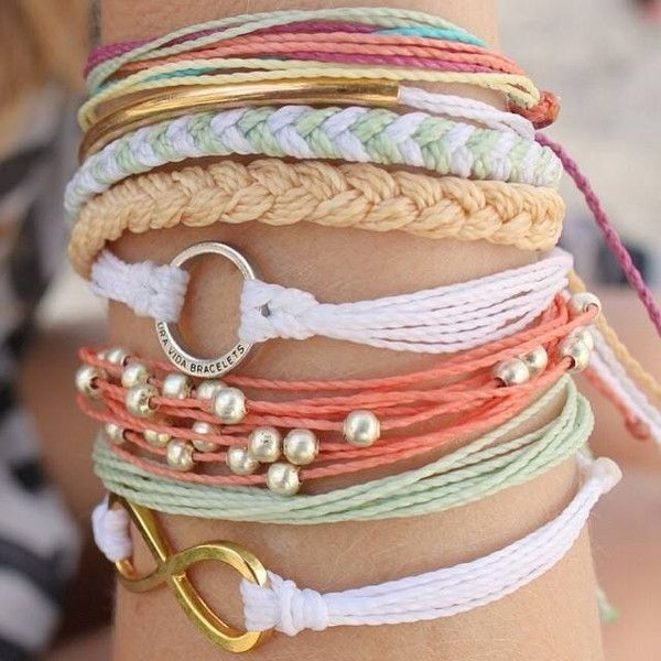 Every bracelet is 100% waterproof. Go surf, snowboard, or even take a shower with them on. Wearing your bracelets every day only enhances the natural look and feel. Every bracelet is unique and hand-m