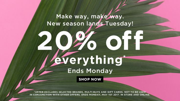 Long Tall Sally USA and Canada: 20% off everything!