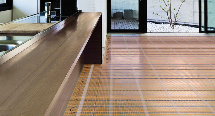 Теплый пол под ламинат на деревянный пол: виды и особенности
