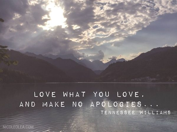 Tennessee williams quote