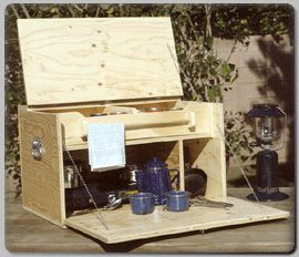 Camp Kitchen (Plan No. 213) - Outdoor Plans, Projects and Patterns