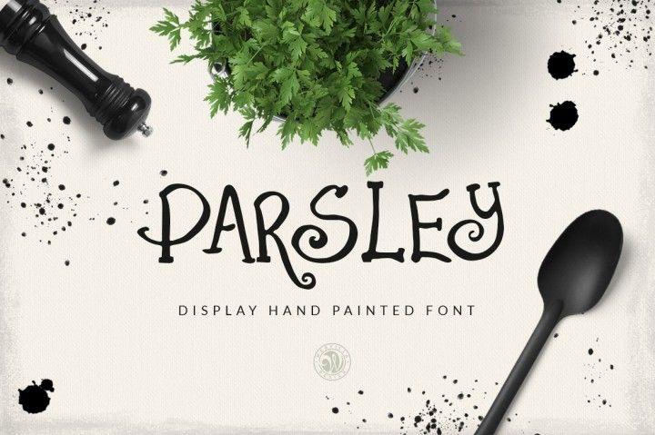 Parsley Font By Webvilla