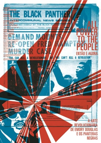 Exhibition Poster for Emory Douglas graphic work