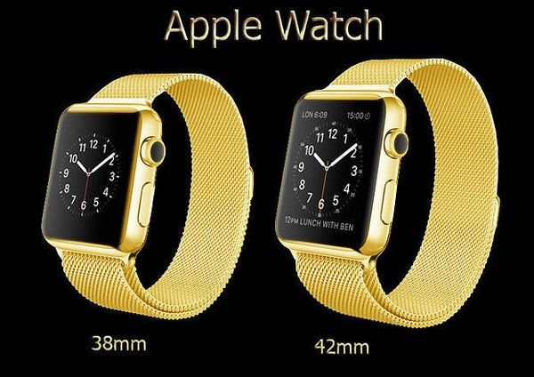 Win Gold Apple Watch Contest!