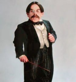Professor Flitwick(Harry Potter Film Series) played by Warwick Davis