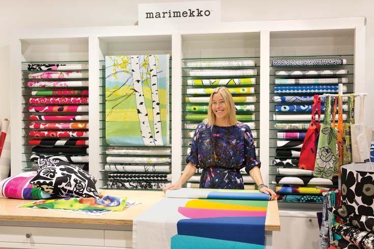 Marimekko, Florence Broadhurst, Ingrid Anderson, A. Henry and Echino fabrics