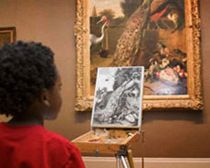 The Metropolitan Museum of Art put its collection of 400,000 pieces of art online for free download/non-commercial purposes.