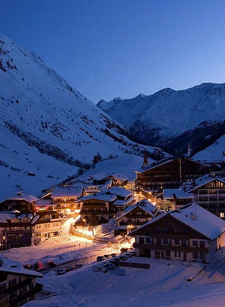 Obergurgl, Ötztal Alps in Tyrol, Austria