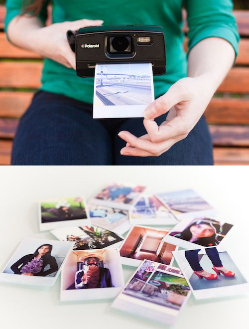 The Polaroid Z340 Instant Digital Camera - Get instant photos in your hand with an added bonus: you can save and edit them! Crop, add filters or text, make custom borders and lots more. $249