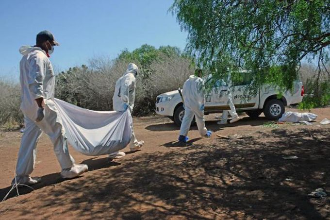 Policía mexicana halla 14 cadáveres en una narcofosa