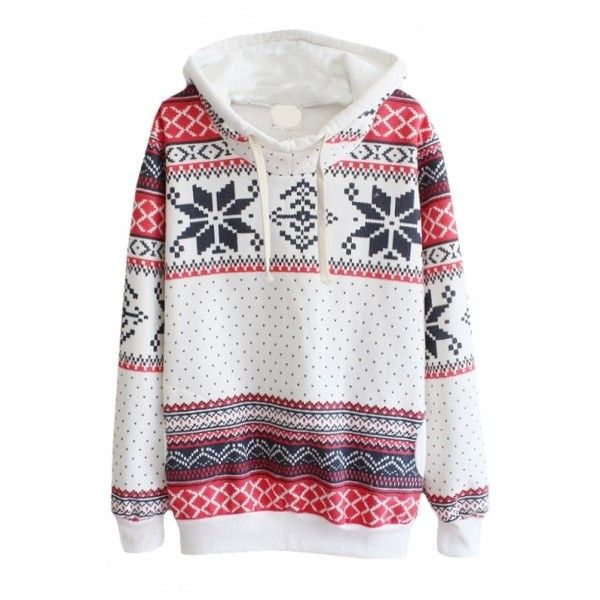 Aztec Print Long Sleeve Hoodie with Funnel Neck ($22) ❤ liked on Polyvore featuring tops, hoodies, sweaters, jackets, aztec pattern hoodie, hoodies sweatshirts, long sleeve hoodies, sweatshirts hoodies and hoodie sweatshirts