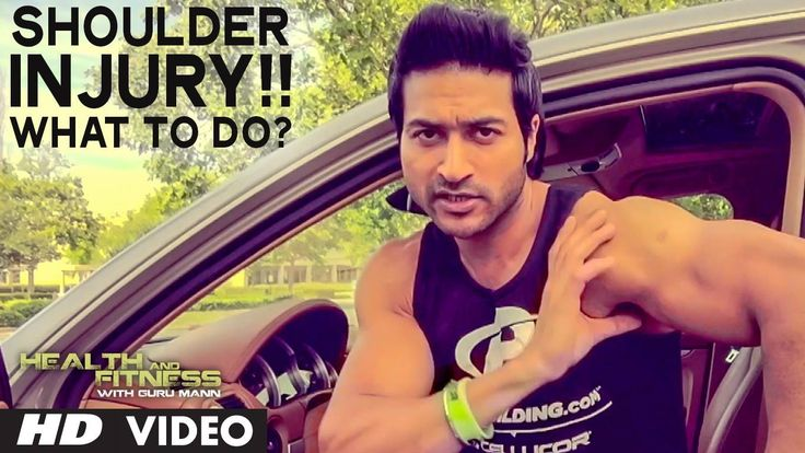 cool Shoulder Injury Recovery   4 Easy Ways   Health And Fitness   Guru Mann