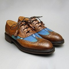 Pitlochry in Tartan Mahogany by Joseph Cheaney #British #Shoes