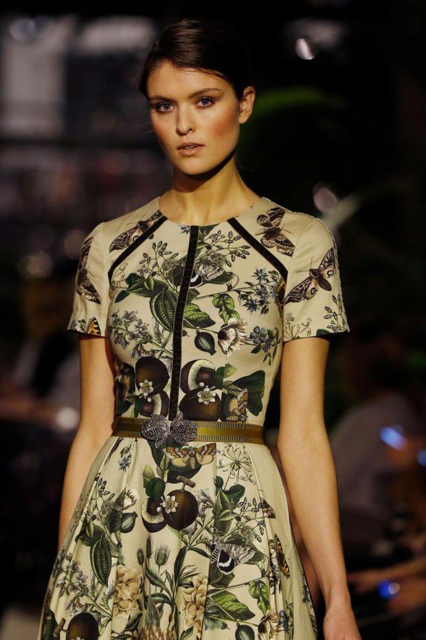 Lena Hoschek auf der Berlin Fashion Week 2018 014330b7dd92d