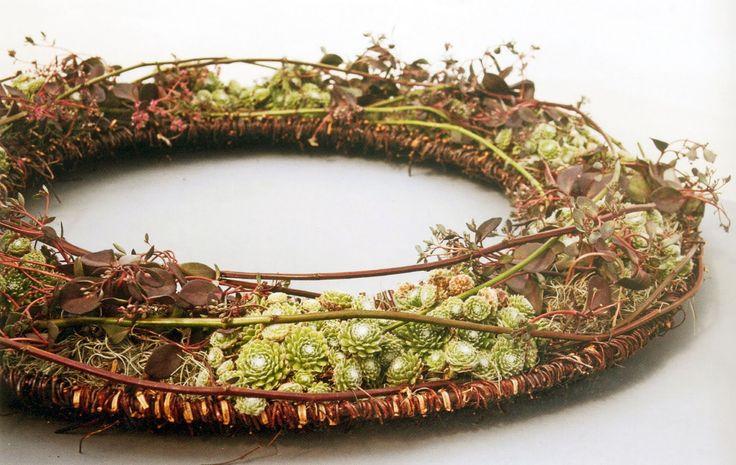 artist: Britta Ohlrogge Escola d'Art Floral de Catalunya: DEMOSTRACIONS - DEMOSTRACIONES