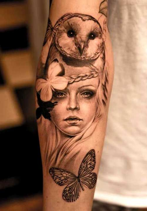 drawings of women and owls - Pesquisa Google