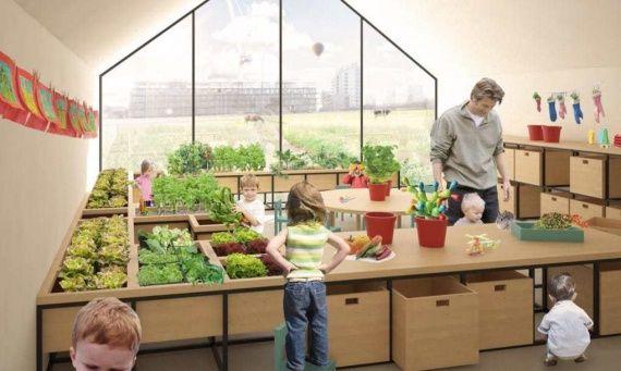 школа и ферма 2 и 1