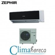 Aer Conditionat ZEPHIR Inverter Black Mirror 12000 BTU casa restaurant cafenea club hotel destinat Horeca
