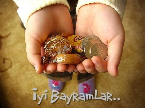 Cultural Celebrations:'Iyi Bayramlar' (Eid Mubarak in Arabic) is also said during the day to the Muslim community, as a sign of happy celebration.