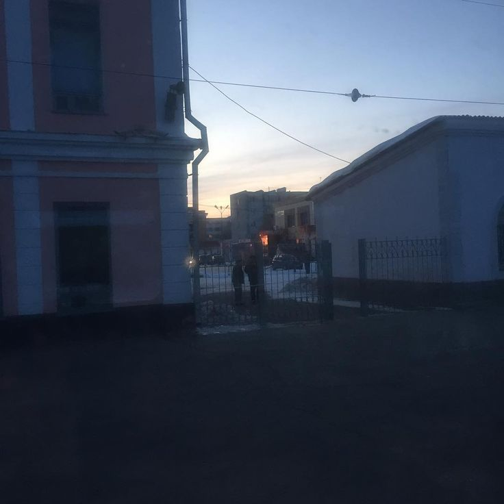 Вот вам #закат #безфильтра из славного города #карталы