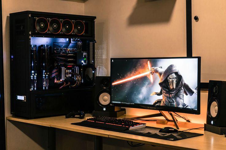Predator Pc Amp Gaming Pinterest Gaming Desk Pc And