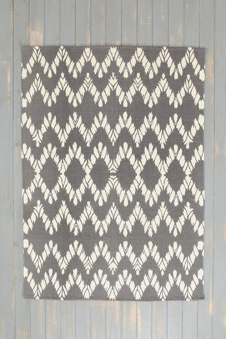 Magical Thinking Chevron Rug just $200 for 8x10 at urban outfitters. Can cover a lot of ugly floor, if the floor is ugly.