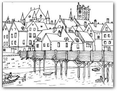 dibujos de paisajes para colorear e imprimir buscar con google