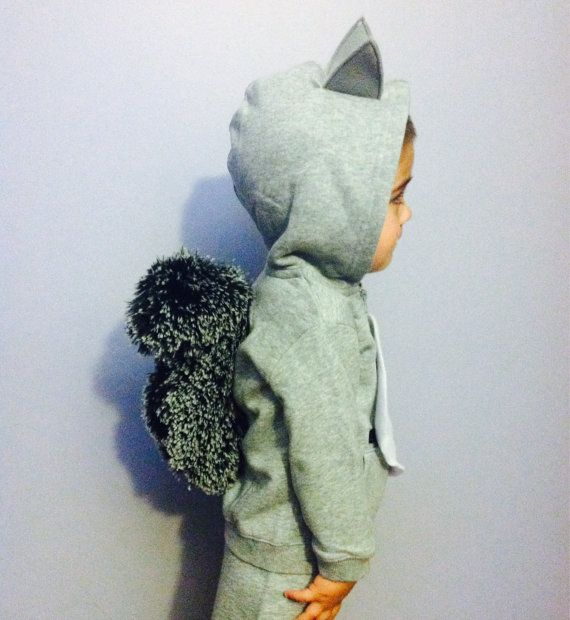 Squirrel Costume by AliciaMarieCreate on Etsy