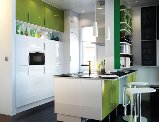 Ikea Keuken Groen : IKEA High Gloss Kitchen