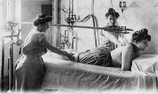 История курорта: лечебный душ - PRO kurort