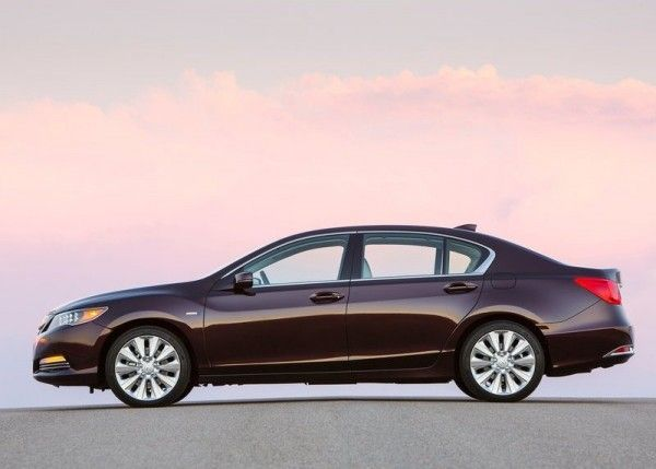 2014 Acura RLX Sport Hybrid Side 600x429 2014 Acura RLX Sport Hybrid Full Review with Images