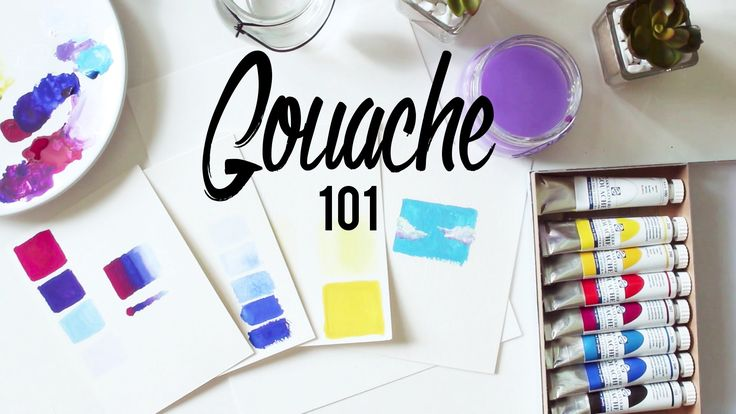 Gouache 101 · Tips and Techniques + Paper, Brushes and Cheap vs. Expensive