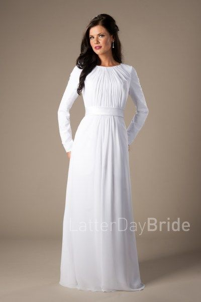 Lds Wedding Dress Stores In Utah : Images about temple dresses on bridal